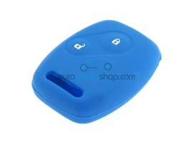 Key Cover Honda- 2 button- material Soft Rubber- Color Dark blue - after market product