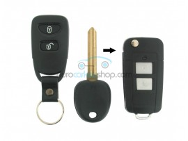 Hyundai 2 Button Remote Flip Key Fob Case for item number HYU103 - after market product