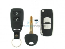 Hyundai 2 Button Remote Flip Key Fob Case for item number HYU111 - after market product