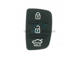 Hyundai keypad for remote key HYU124 - 3 buttons - 35 mm x 22 mm - after market product