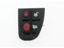 Jaguar 4 Button Remote Key Rubber Pad for Remote Flip Key - after market product