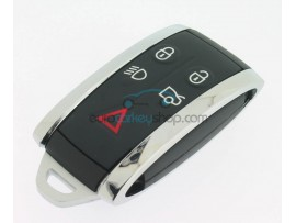 Jaguar 5 Button Smartkey Case - Including Emergency Key - after market product