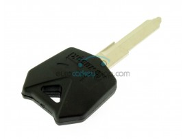 Kawasaki motorbike key - Black - 4D62 Transponder - Key Blade KW16 - after market product