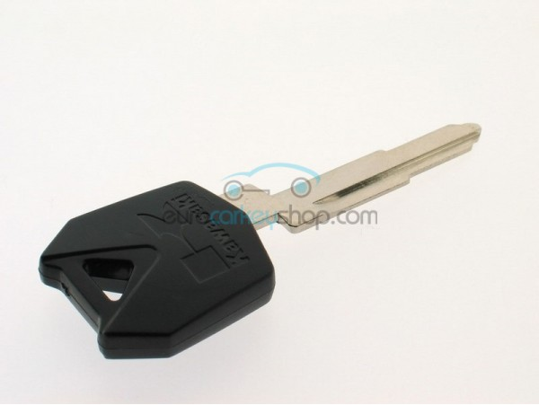 Kawasaki motorbike key - Black - Key blade KW14R - after market product