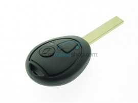 Land Rover Remote Key 2 Button - 434 Mhz - 7930 Transponder Chip - key blade HU92 - after market product