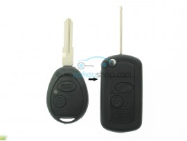 Land Rover 2 Button Remote Flip Key Fob Case for item number LAN102 - after market product