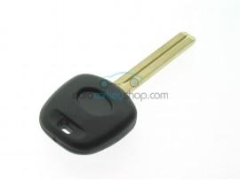 Lexus transponder key including 4C transponder chip - key blade TOY40 - Long Blade - after market product