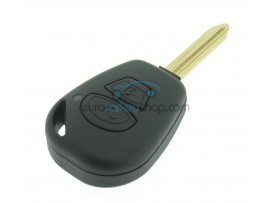 Ligier 2 button Remote Key Fob Case - key blade SX9 - after market product
