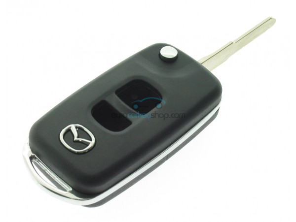 Mazda 2 Button Remote Flip Key Fob Case For Item Number