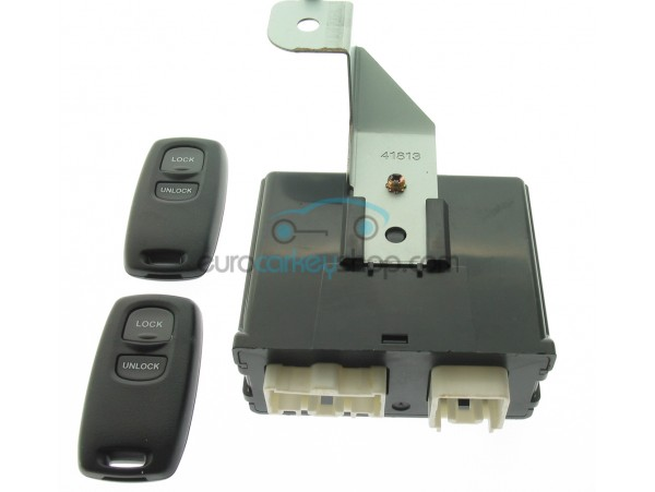 Mazda complete remote control set - includes two remotes 433 Mhz - 2 buttons - OEM product