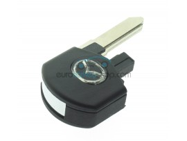 Mazda key flip part with 4D63 transponder chip - Key blade MAZ24R - after market product