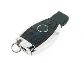 Smart Key for Mercedes Benz - 3 buttons - 433 Mhz - NEC - BE - High Quality - from year 2002 - after market product
