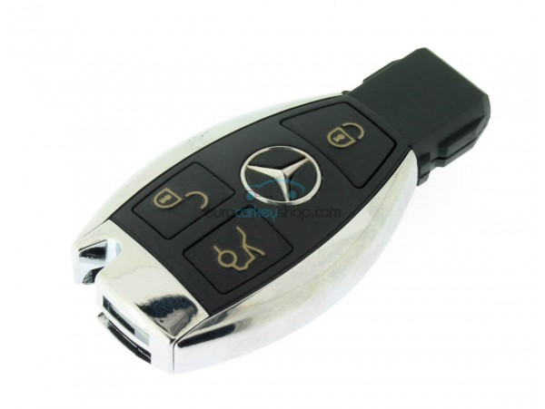 mercedes 3 button smart key 434 mhz nec chip after