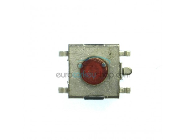 Push switch for repair of the circuit board of a car key - 6,5 x 6,5 mm -  height push button 1 mm - after market product
