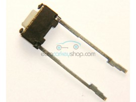 Push switch for repair of the circuit board of a car key - 6 mm x 4 mm - 2 long contacts - after market product
