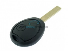 Mini 2 Button Remote Key Fob Case for Mini Cooper - Cabrio - Clubman - One - Model to 2005 - after market product