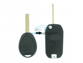 Mini 2 button remote flip key fob case for Mini item number MIN101 - after market product