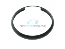 Aluminum Smart Key Fob Replacement Ring For Mini Cooper (MIN104) - Color BLACK - after market product