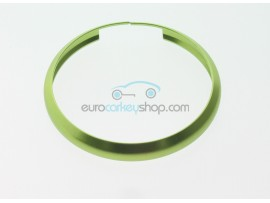 Aluminum Smart Key Fob Replacement Ring For Mini Cooper (MIN104) - Color GREEN - after market product