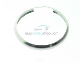 Aluminum Smart Key Fob Replacement Ring For Mini Cooper (MIN104) - Color CHROME - after market product
