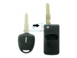 Mitsubishi 2 Button Remote Flip Key Fob Case for item number MIT105 - after market product