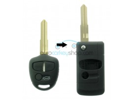 Mitsubishi 3 Button Remote Flip Key Fob Case for item number MIT116 - after market product
