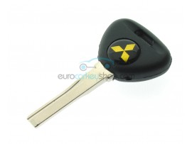 Mitsubishi key with space to place transponder - key blade HU56 - after market product