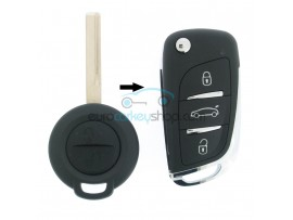 Mitsubishi Remote Key - 2 Buttons - 434 Mhz - ID46 Chip - Colt - Smart ForFour - after market product