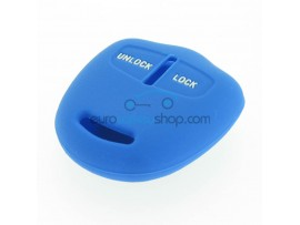 Key Cover Mitsubishi- 2 button- material Soft Rubber- Color Blue - after market product