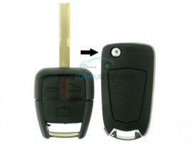 Opel 3 Button Remote Flip Key Fob Case for item number OPE105 - after market product