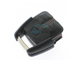 Push button section key housing - 3 buttons - without battery holder for Opel Omega - Vectra C - after market product