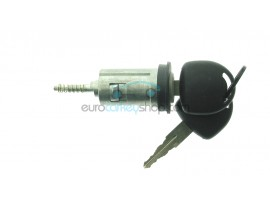 Opel ignition lock with 2 keys - key blade HU46 - groove left - after market product