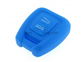 Key Cover Opel - 3 button- material Soft Rubber- Color BLUE - after market product