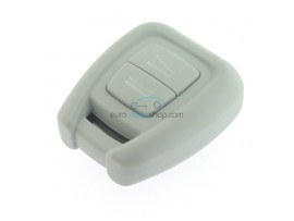 Key case Opel - 3 button- material Soft Rubber- Color GRAY - after market product