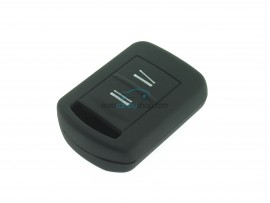 Key case Opel - 2 button- material Soft Rubber- Color BLACK - after market product