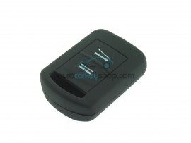 Key Cover Opel - 2 button- material Soft Rubber- Color BLACK - after market product