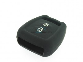 Key case Opel - 2 button- material Soft Rubber- Color Black - for itemnr  OPE106 - after market product