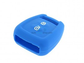 Key case Opel - 2 button- material Soft Rubber- Color Blue - for itemnr  OPE106 - after market product