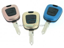 Citroen 2 button Remote Key Fob Case - Keyblade NE73 - Different Colors - after market product