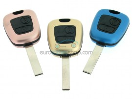 Citroen 2 button Remote Key Fob Case - Keyblade HU83 - VA2 - Different Colors - after market product