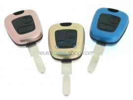 Peugeot 2 button Remote Key Fob Case - Keyblade NE78 - Different Colors - after market product