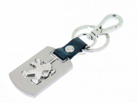 Peugeot Keyring - with clasp - after market product