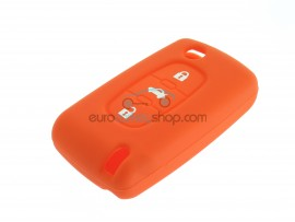 Key Cover Citroen- 3 button- material Soft Rubber- Color Orange - after market product