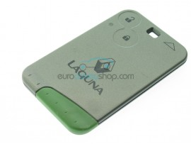 Renault Laguna 2 Button Key Card - 433 Mhz - non keyless - after market product