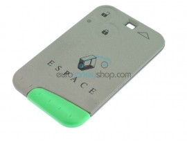 Renault Espace 2 Button Key Card- 433 Mhz - non keyless - after market product