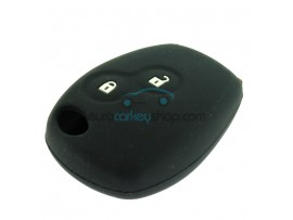 Key Cover Renault - 2 button- material Soft Rubber- Color Black - after market product