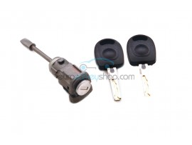 Door lock with keys for Seat Ibiza 3e generatie LH - key blade HU66 - OEM product