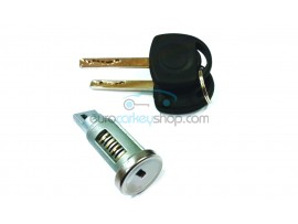 Skoda complete lock set for Citigo - Fabia - Rapid - Roomster - Superb - Yeti - 434 Mhz - Key blade HU66 - OEM product