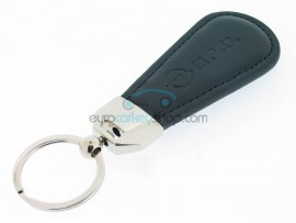 Key fob Opel - black imitation leather version - after market product