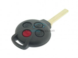 Smart remote key case - 3 buttons + panic button - after market product